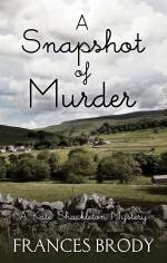 A Snapshot of Murder - the Thorndike Large Print edition